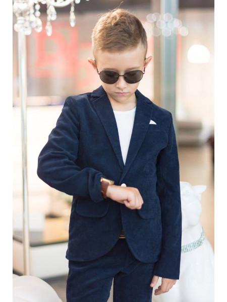 Вельветовый школьный костюм для мальчика