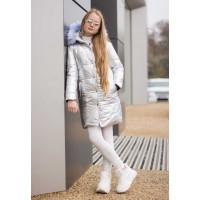 Дитяча зимова куртка для дівчинки Металік