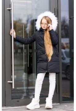 Зимняя куртка на девочку 8 9 10 11 12 13 14 лет