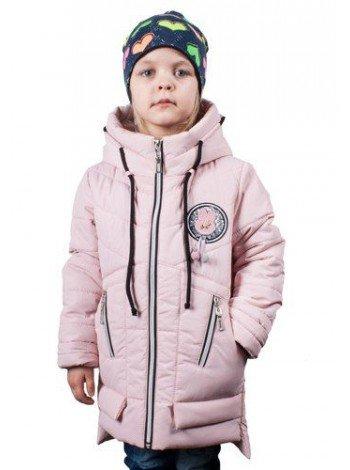 Подовжена куртка для дівчинки весна-осінь