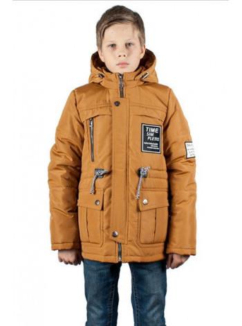 Весенняя куртка парка для мальчика