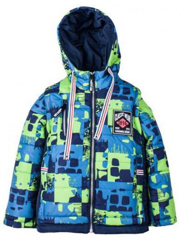 Дитяча куртка із знімними рукавами для хлопчика