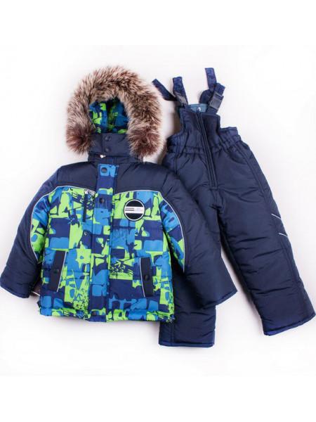 Зимний костюм комбинезон для мальчика