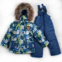 Утеплений зимовий костюм на хлопчика