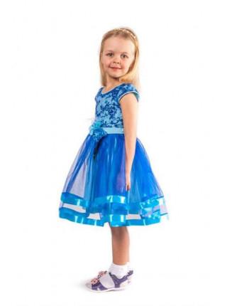 Выпускное платье на девочку с пышной юбкой