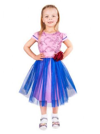 Дитяча випускна сукня з фатиновою спідницею