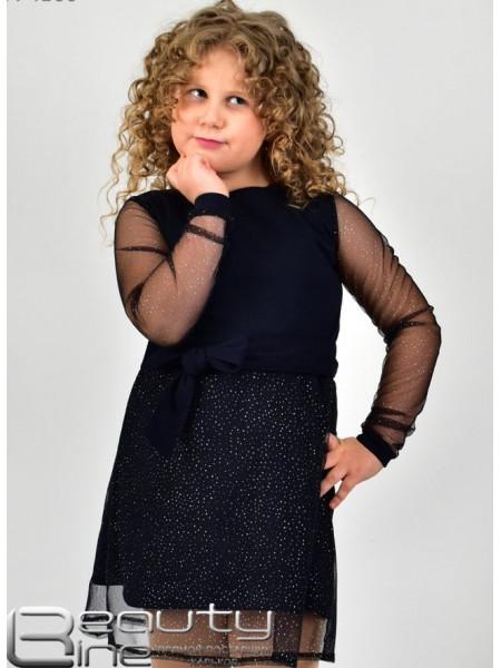 Красиве коротке дитяче плаття із рукавом