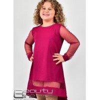 Нарядное платье асимметричное для девочки