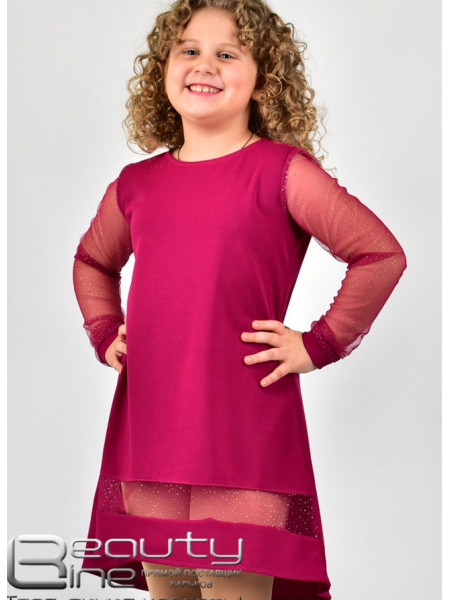 Нарядне плаття асиметричне для дівчинки