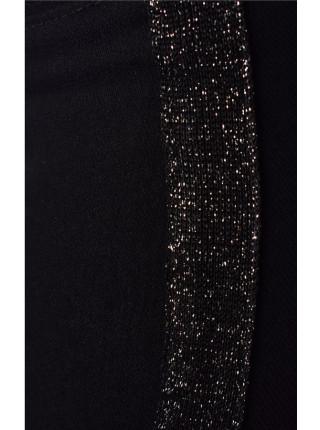 Дитячі чорні штани для дівчинки