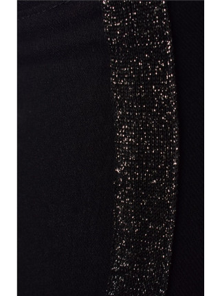 Детские черные штаны для девочки