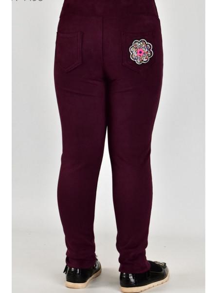 Модні джинси дитячі із нашивкою