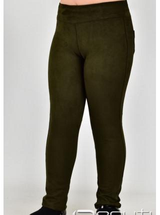 Дитячі замшеві штани для дівчинки