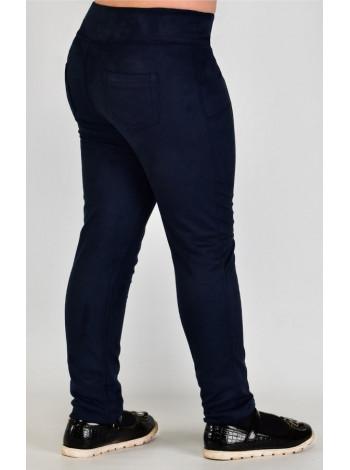 Стильні замшеві дитячі штани для дівчинки
