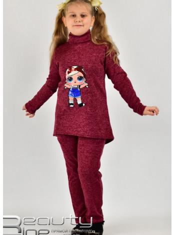 Ангоровий спортивний костюм для дівчинки