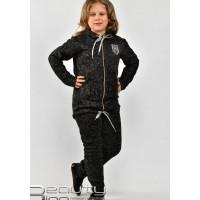 Детский теплый спортивный костюм на флисе