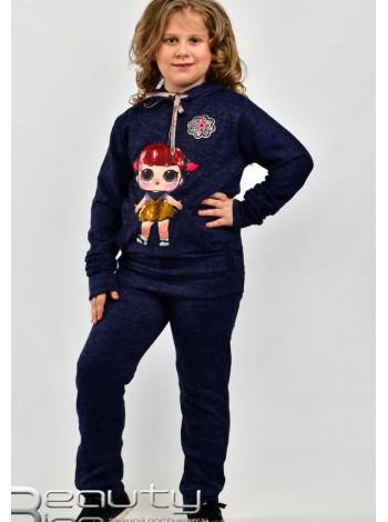 Спортивный костюм для девочки с туникой