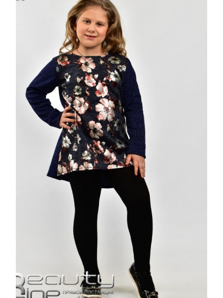 Детская туника с длинным рукавом для девочки