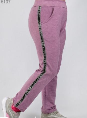 Модные спортивные штаны для девочки