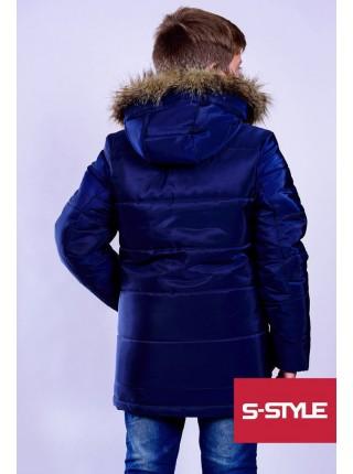 "Зимова куртка на хлопчика ""Глянець"""