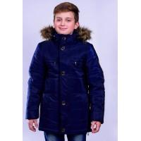 "Зимняя куртка на мальчика ""Глянец"""