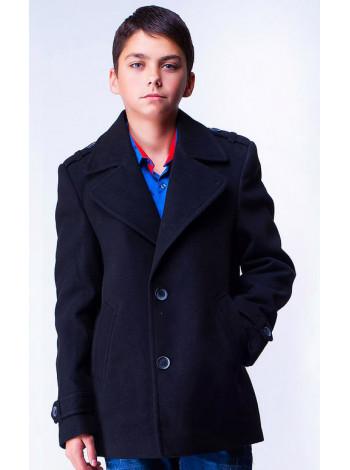 Кашемировое пальто с утеплителем для мальчика
