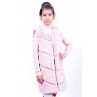 Детская меховая жилетка для девочки