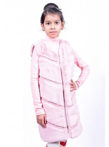 Дитяча хутряна жилетка для дівчинки