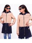 Пальто з капюшоном для дівчинки