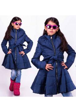 Дитяча куртка з пишним низом