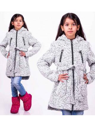 Пальто для дівчинки на весну