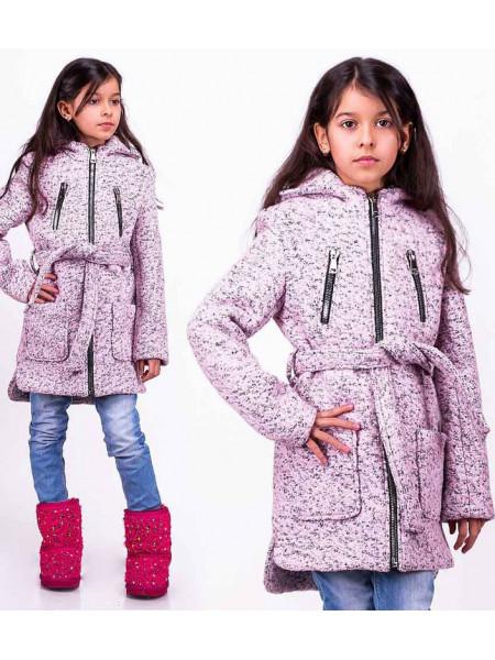 Пальто для девочки на весну