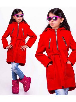 Стильне пальто для дівчинки
