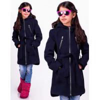 Стильное пальто для девочки