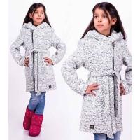 Детское пальто из букле