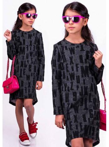 Дитяче плаття асиметричного крою