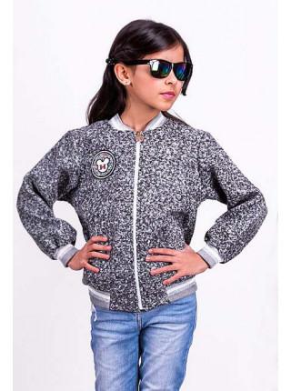 Дитяча куртка бомбер для дівчаток