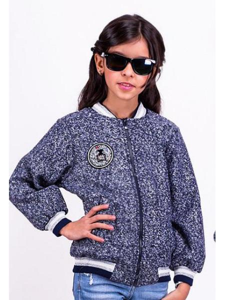 Детская куртка бомбер для девочек