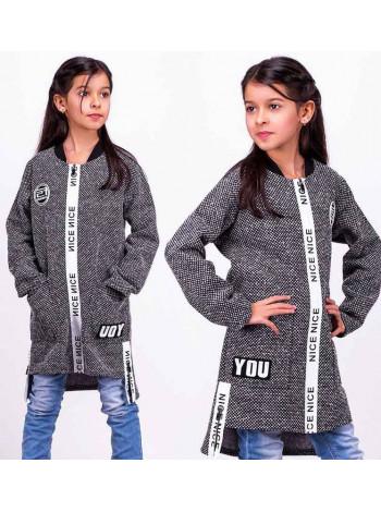 Модный кардиган девочке