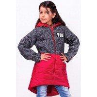 Модна куртка на дівчинку