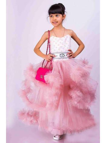 Бальное платье для детей 6-7 лет