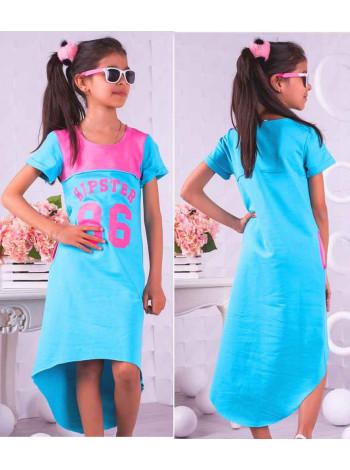 Летнее платье для детей в спортивном стиле