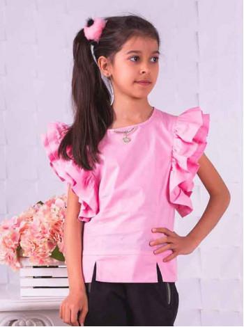Літня блузка для дівчинки