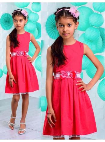 Детское платье летнее на 5 6 7 8 лет