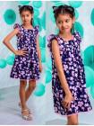 Літня модна сукня для дівчаток