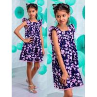 Летнее модное платье для девочек