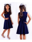Модний дитячий сарафан для школи