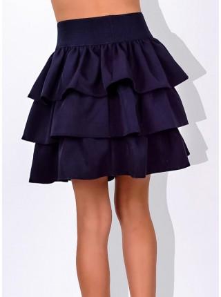 Школьная нарядная юбка для девочки
