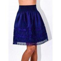 Школьная юбка на резинке для девочки