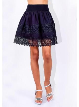 Красивая юбка для девочки школьная